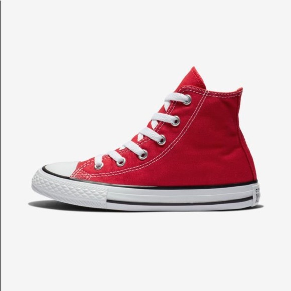 0ec76a12674 Converse Shoes - Red Chuck Taylor High-Top Converse
